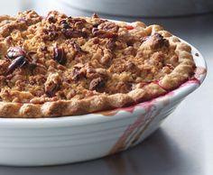 Cranberry-Apple Crumble Pie Recipe  | Epicurious.com