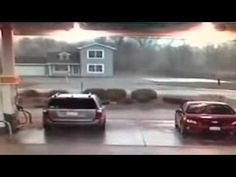 Tornado Makes a House Disappear in Seconds