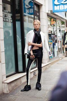 Hanne Gaby Odiele in Paris
