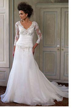 Wedding Dresses For Older Brides 2015 Ideas   Wedding Inspiring