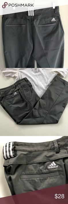 Adidas Gray Golf Pants Great condition Adidas gray golf long pants Size 30/30 Waist 30 Inseam 30 Please see my closet for coordinating items. adidas Pants Chinos & Khakis