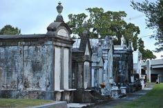 Graveyard in Metairie, Louisiana
