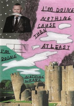 """danedehaanfanart: """" demiiwhiffin: """" higher // the saturdays """" why… a picture of martin clunes """" why not Cool Stuff, Collages, Illustrations, Pretty Words, Wall Collage, Word Art, Zine, Art Inspo, Artsy"""