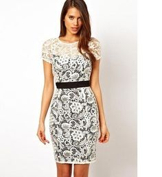 Lace spring dresses - 3 PHOTO!