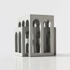 Unique brutalist sculptures at Modern Shapes Gallery Concrete Architecture, Architecture Panel, Minimalist Architecture, Interior Architecture, Architecture Courtyard, Architecture Background, Drawing Architecture, Islamic Architecture, Architecture Model Making