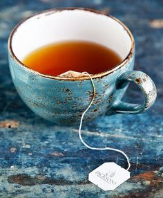 Not feeling well. Perhaps just half a cup of tea... ~~ Houston Foodlovers Book Club