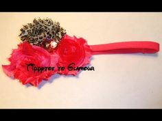 In this video i will be showing you how to make a Shabby Chic Flower Headband.  Very simple to do Hope you enjoy    Like my Facebook    http://www.facebook.com/tippytoeglamour      www.facebook.com/TippytoeToGlamourBowtique