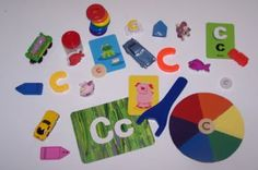 Letter Cc Activity Trays