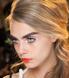 Five ways to wear white eyeliner