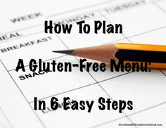 How To Plan A Gluten Free Menu: In 6 Easy Steps | Divine Health