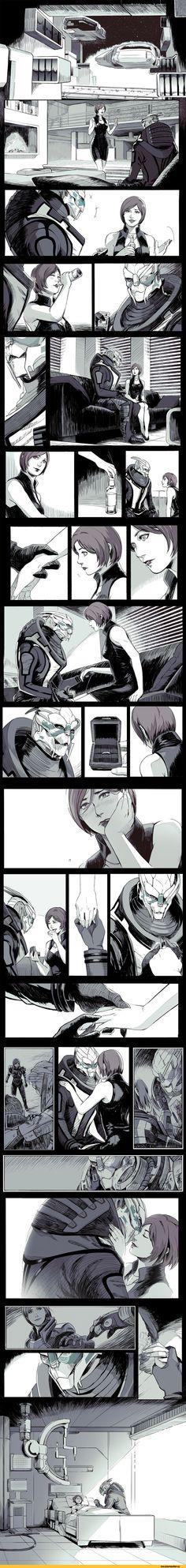 Garrus & Shepard: Engagement