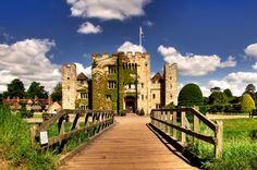 Hever Castle, once the home of Anne Boleyn.