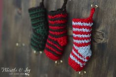 This post uses affiliate links. For more info, click here. Welcome the Crochet Stocking Advent Calendar Crochet Along! If you missed all the details, click here for the run-down for the project. For Day 1,I am sharing the basic crochet mini stocking pattern, the one that all the others will be based on.I will showClick for more