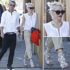 Gwen Stefani Summer Street Style
