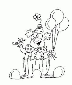 My coloring of clown Coloring Pages, Carnival, Snoopy, Clowns, Blog, Cards, Fictional Characters, Decor, Meet