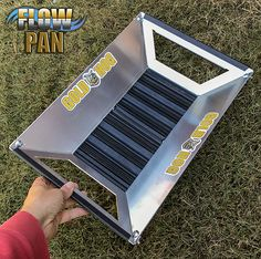 GoldHog FlowPan is the the world's fastest gold pan and makes the job of gold panning simple and easy. The new FlowPan is truly amazing and fast gold pan. Gold Sluice Box, Gold Mining Equipment, Gold Deposit, Panning For Gold, Gold Prospecting, Metal Detecting, Gold Diy, Metal Projects, Gems And Minerals