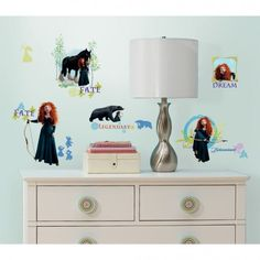 Brave Wall Decals | RoomMates Peel and Stick Décor