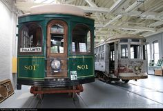 Former Lehigh Valley Transit Jewett Car Company trolley car 801 is under restoration at the Electric City Trolley Museum. This trolley car was constructed in 1912 and had plied LVT rails between Allentown and Philadelphia until 1939.