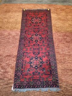 Vintage-1-9x5ft-Hand-Knotted-Turkemon-Rug-Runner-T008