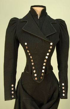 1900's jacket front