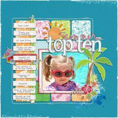 summer top ten in contrasting colors