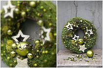 Wianki, i dekoracje na Boże Narodzenie - strona 74 - F… na Stylowi.pl Christmas Door Wreaths, Christmas Gingerbread House, Christmas Bulbs, Gingerbread Houses, Easter, Seasons, Halloween, Holiday Decor, Crafts