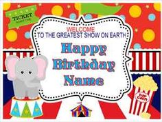 Edible Cake Image Carnival Circus Party Icing Sheet Topper or Cupcakes Birthday | eBay
