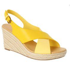 Chaussure talon confortable compensé