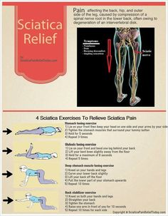 Try these at home to help with your #sciatica.  www.bwmassagetherapies.com