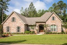 Plan 51768HZ: Exclusive Charming French Country House Plan With Optional Bonus Room