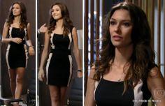 Alguns looks da Fernanda em fevereiro na novela Além do Horizonte