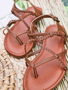 The best part of spring?  Sandal weather of course!  Altar'd State Debbie Strappy Sandals - Footwear