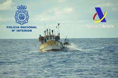 España interceptó un barco venezolano cargado con 2.500 kilos de cocaína