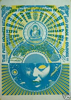 psychedelic pink floyd poster