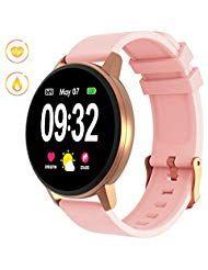 Gokoo Smartwatch Fitness Armbanduhr Damen Herren Mit Full