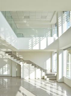 Gallery of White Office Building / BNS Studio - 5