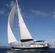 63' Dynamique #Sailboat with elegant lines and fast hull for personal sail #boating or a great size for high end charter potential.