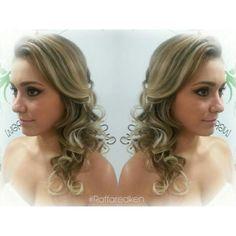 #hair #hairstyle #blond #blondhair #loirodossonhos #redken #tratamento #noiva #bride #fiancee #penteado