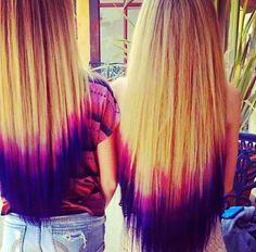 That is cool! The ombré is so pretty!