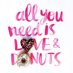 Spreading the good word as a certain holiday is here! Hope your #ValentinesDay is full of love and #HeartShapedDonuts from @dunkindonuts! #Sponsored