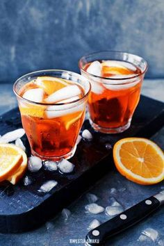 13 aperol cocktails recipes for spring and summer. Aperol is a citrus-based aperitif with a low-alcohol content, like Campari but sweeter in taste. The light, crisp flavors are perfect warm weather alcoholic cocktails. For more recipes go to Domino. Amaro Cocktails, Alcoholic Cocktails, Summer Cocktails, Aperol Spritz Recipe, Italian Drinks, Fruity Wine, Bar Drinks, Beverages, Cocktail Recipes