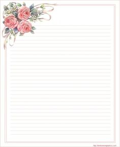 Lined Stationery  Lined Stationary Paper