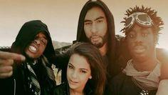 La Fouine, Fababy, Sindy & Sultan. Un groupe de OUF !!!