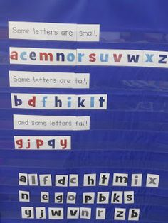 Chicka chicka boom boom poem with letters