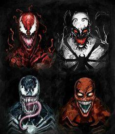 Carnage, Anti-Venom, Venom and Toxin