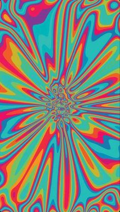 trippy rainbow wallpaper