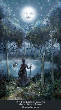 Via Tarot: A Lua Se levarmos em conta que na quinta-feira falamos de poderes e autoridades, é possível usar a magia feminina para conseguir algo que se almeja. O mistério não trará mais medo, mas encantamento. E o tempo, ah o tempo... ele será nosso amigo!