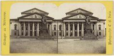 Charles Gerard | Munich (Baviere), Theatre et statue de [onz], Charles Gerard, 1860 - 1870 |