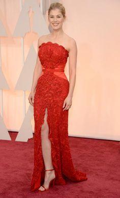 Oscars 2015. Vestido rojo!