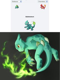 25 More Incredible Pokemon Fusions inspired by http://pokemon.alexonsager.net/
